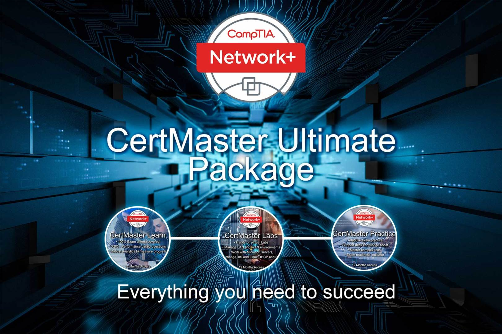 Complete Self-Study Kit for CompTIA Network+ Course N10-007 and Exam N10-007