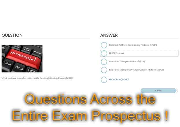 Questions Across the Entire CompTIA Network+ N10-007 Exam Prospectus