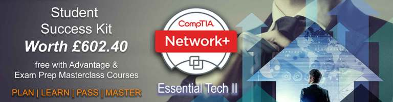 Free Network+ Success kit with our CompTIA Network+ Courses