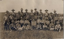 Syston Scout Band in The 1910's