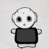 ロボット【Pepper(ペッパー)】画像を読み込んでグレースケールで保存(openCVテスト)