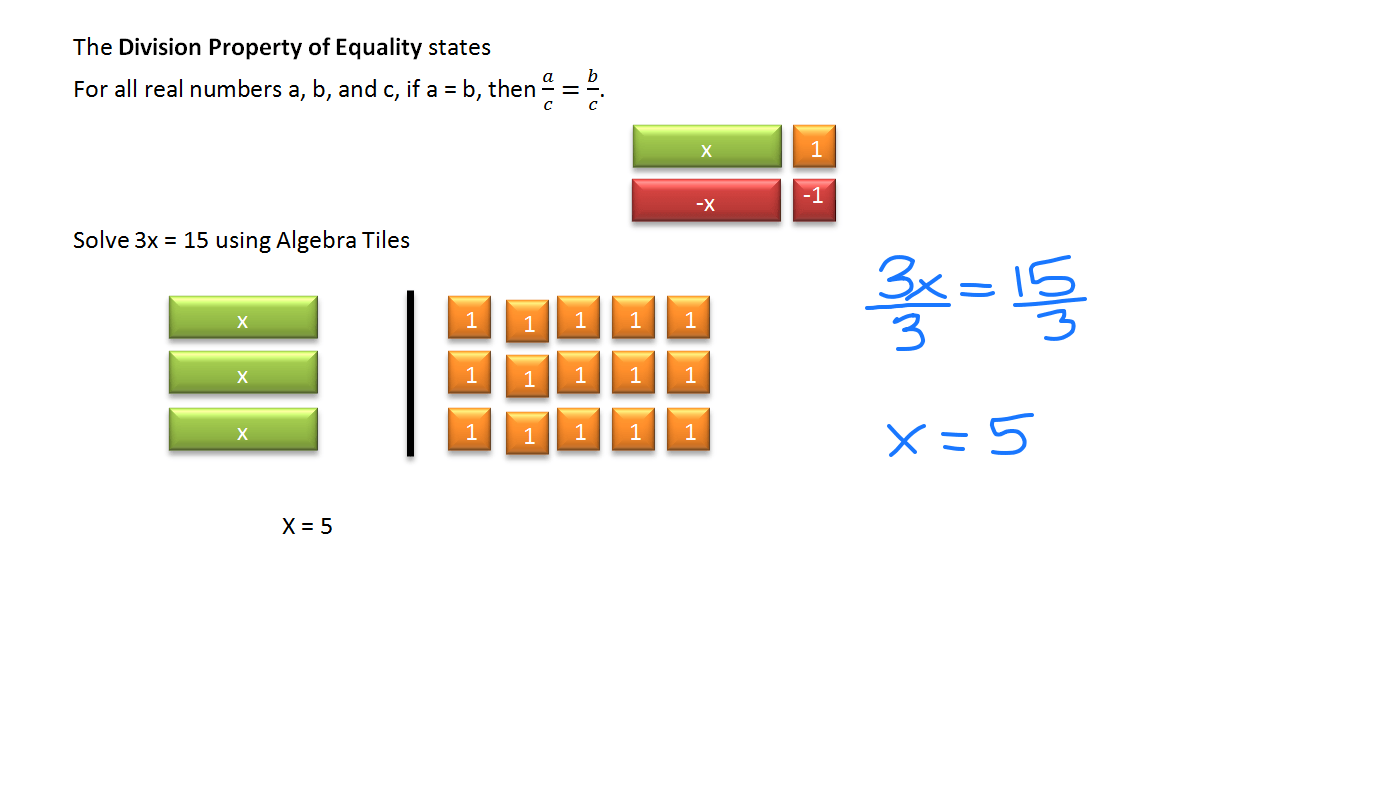 Solving Equation Using Multiplication And Division