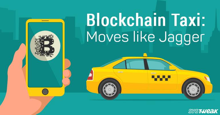 Blockchain Taxi Decentralized Cab Service