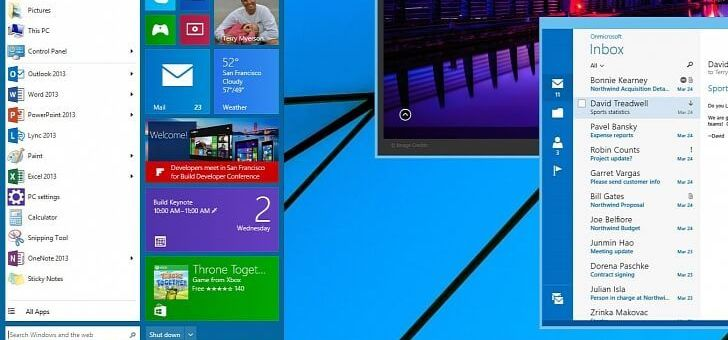 Microsoft anuncia fecha para Windows 9