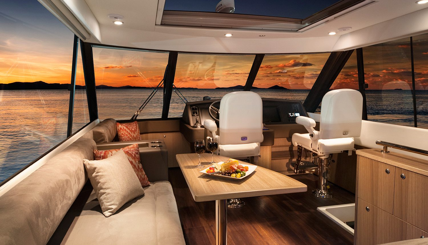 Riviera 57 Enclosed Flybridge For Sale SYS Yacht Sales