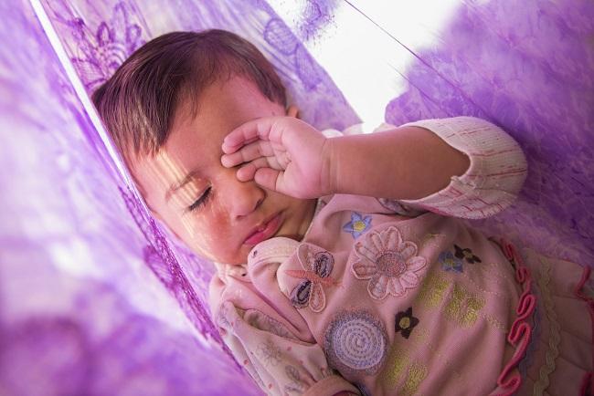 幼児の昼寝の寝かしけ方法