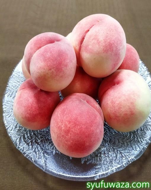 桃の日持ちはどれくらいの日数?常温や冷蔵庫で長く持たせるコツ