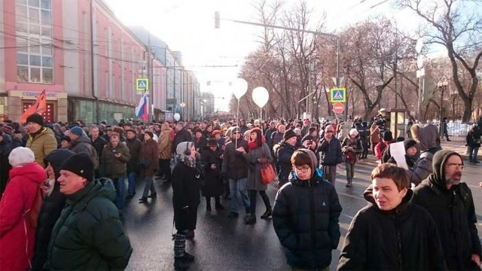 С места событий - Марш Памяти