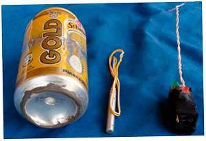 Снимок взрывного устройства