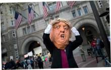 Протесты из-за налоговой