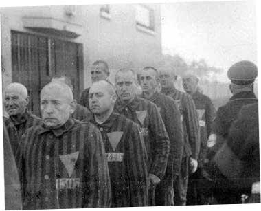 в нацистском концлагере