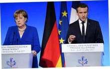 Меркель и Макрон призвали
