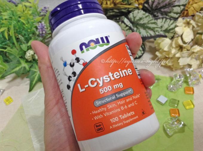 L-システインサプリ - Now Foods, L-システイン、500mg、100錠