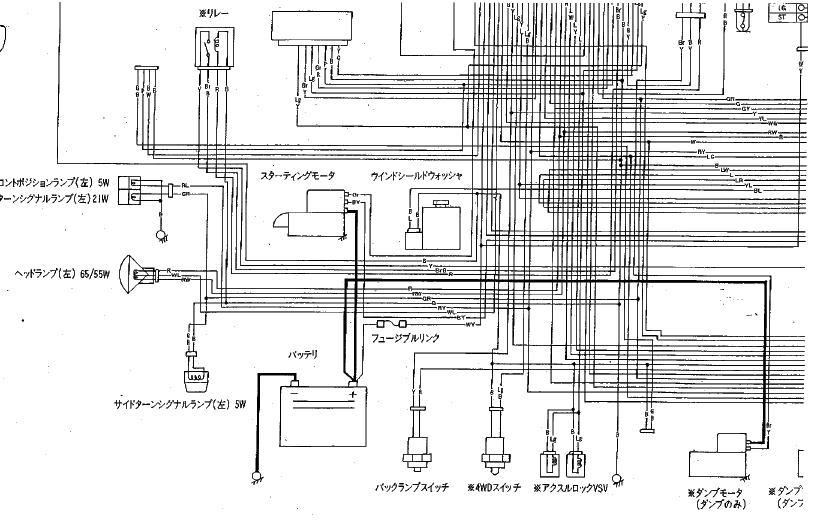 キャリィ DB71T F6A 配線図