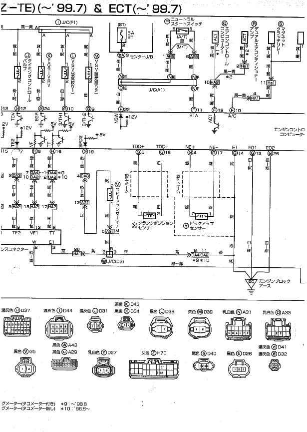 ハイエース KZH106W 1KZ エンジン始動しない