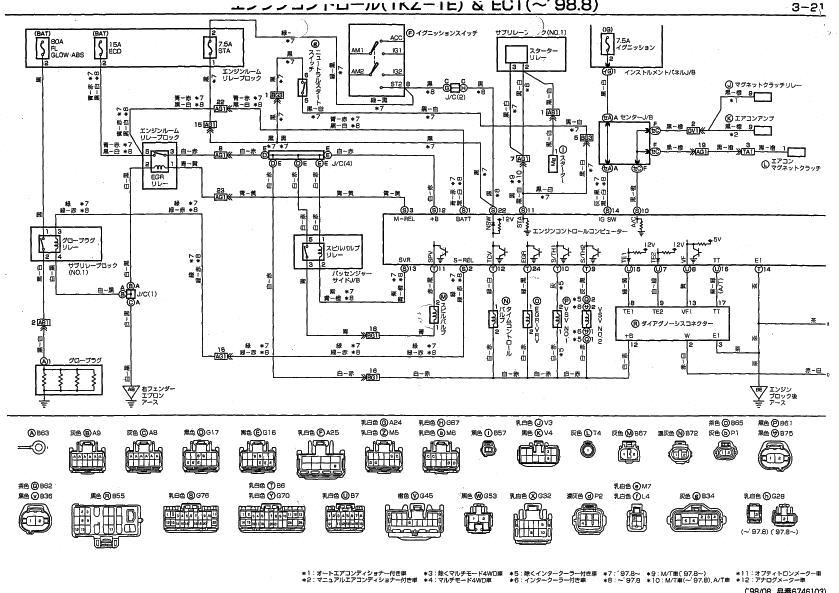 ハイラックスサーフ KZN130W 1KZ-TE エンジン始動せず スピンドルバルブ