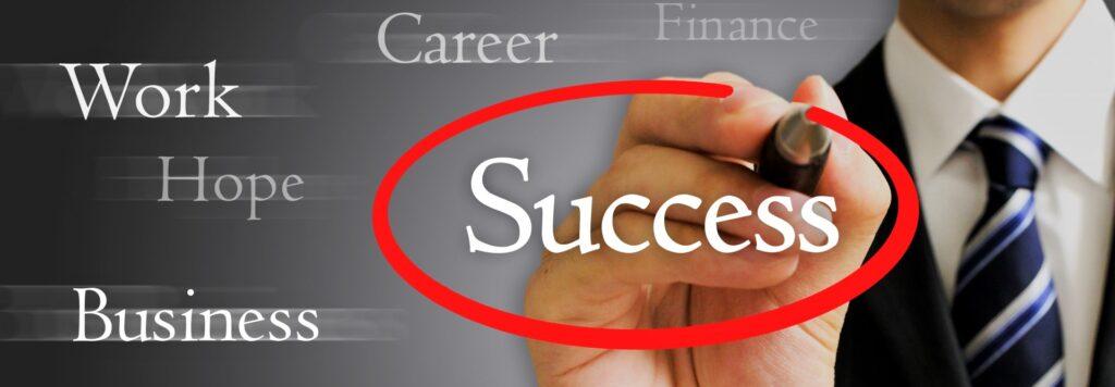 転職に成功する人の画像
