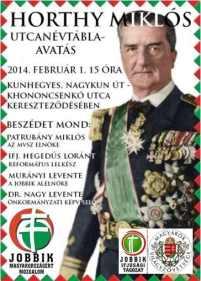 És jön az új nemzeti burzsoázia. - Horthy példaképpel. - Fotó - Jobbik.hu