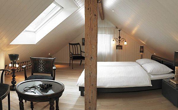 Boutique-Hotel Schlüssel padlásszoba