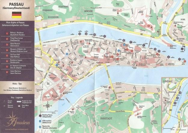 Passau térképe
