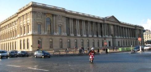 A múzeum az utca felől