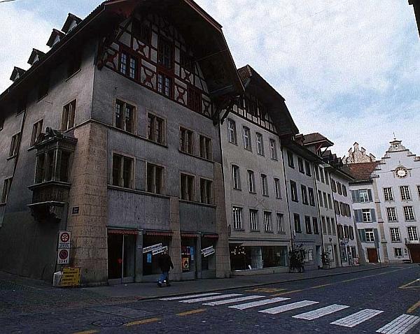 Aarau belváros, Svájc