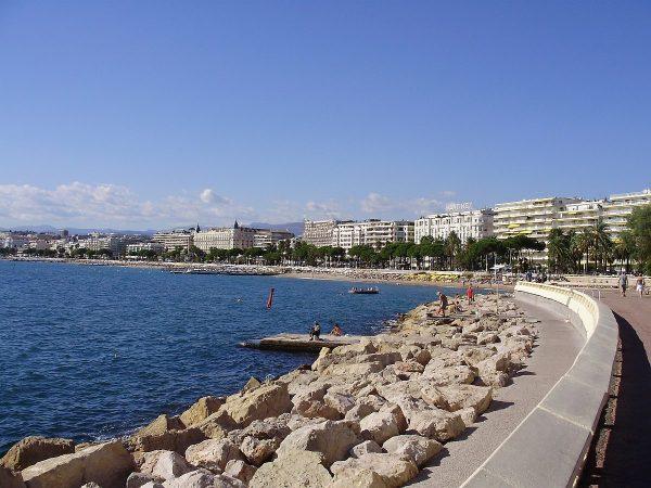 Cannes: tengerpart 2010