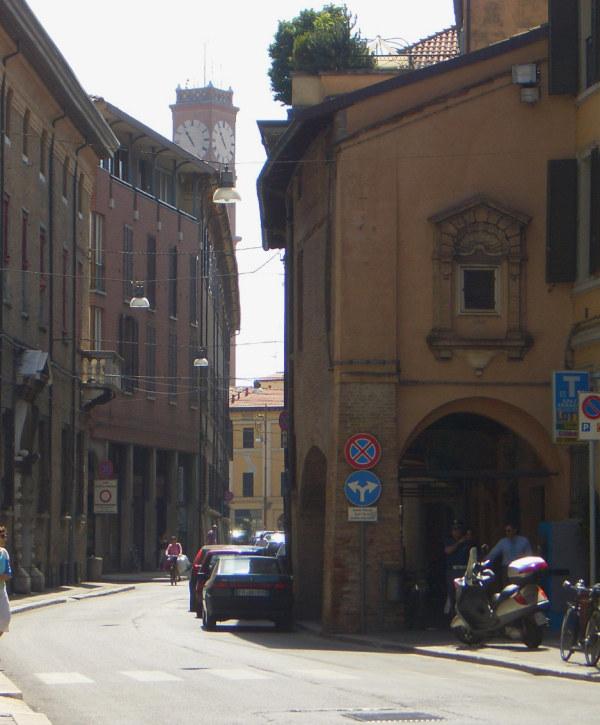 Forli Olaszorszag, nyári utca