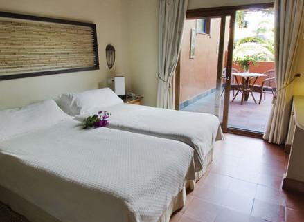 szálloda szoba Beach Hotel Dos Mares