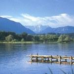Chiemsee tó és hegyek