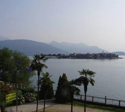 hotel villa, kilátás Stresa