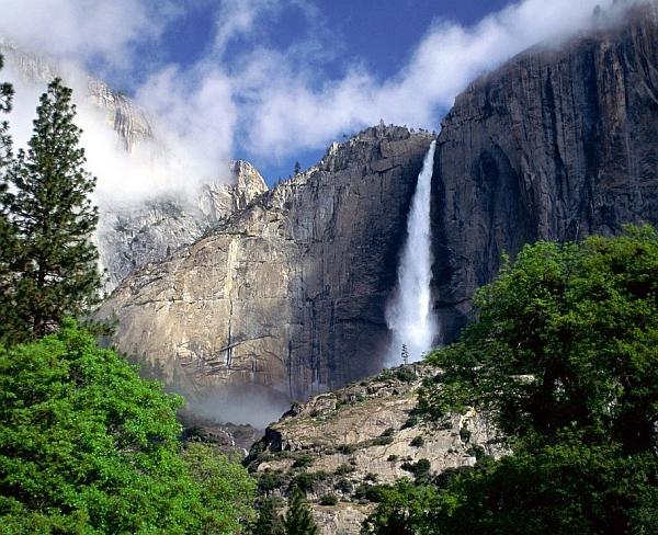 vízesés Yosemite