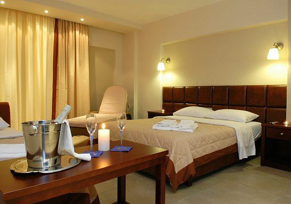Ioanna Hotel Olympiaki Akti szálloda szoba 3***