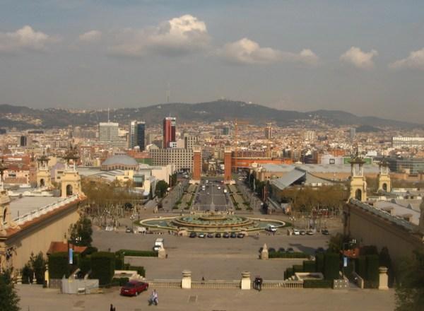 Barcelona nappal