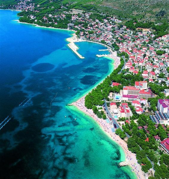 Baška Voda Horvátország