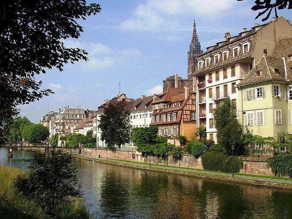 Strasbourg belváros, központ