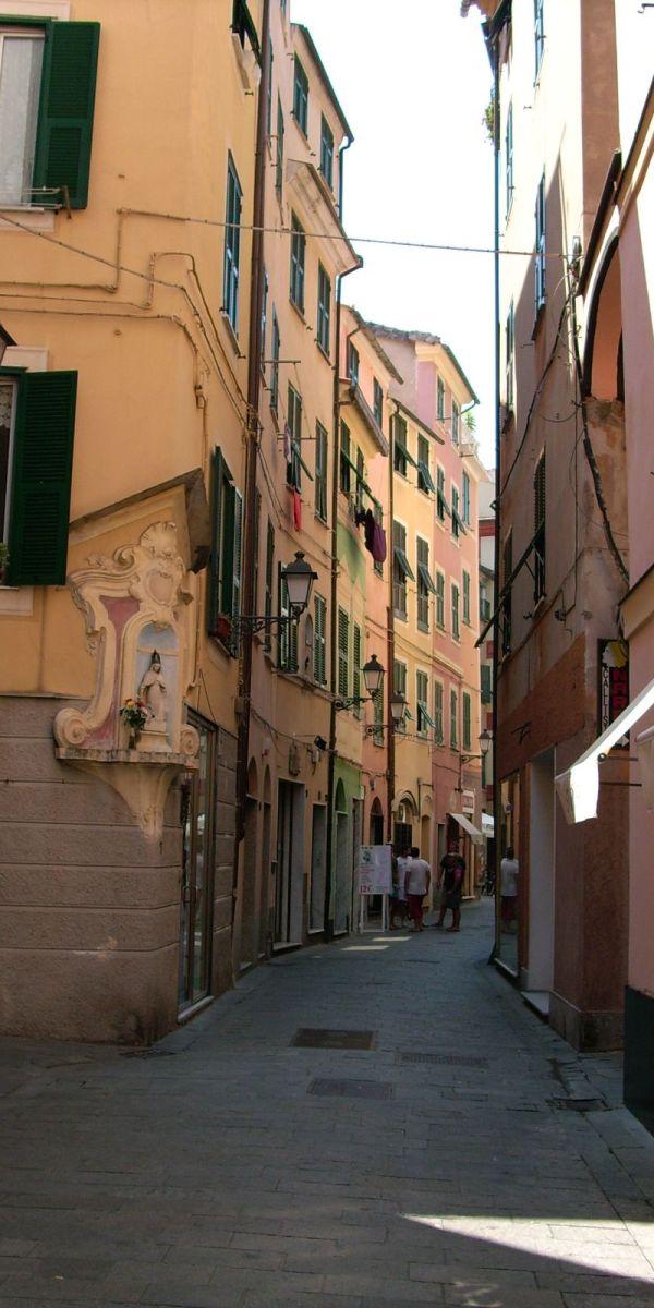 Varazze utca fotó