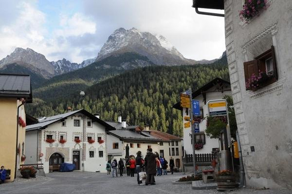 Scuol Svájc