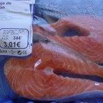 olcsó friss lazac, halhús