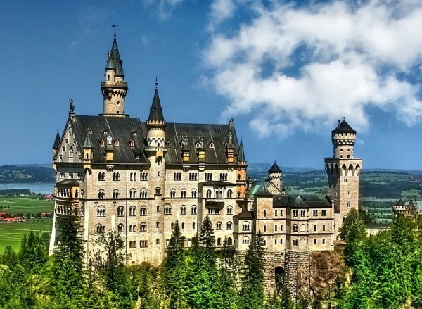 A híres kastély képe
