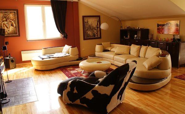 Apartments Foka Spa - Nappali