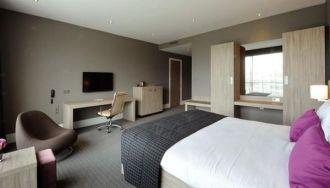 Egy szoba a Van der Valk Hotel Brussels Airport