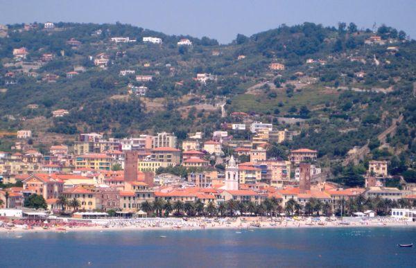 Albenga tengerpartja