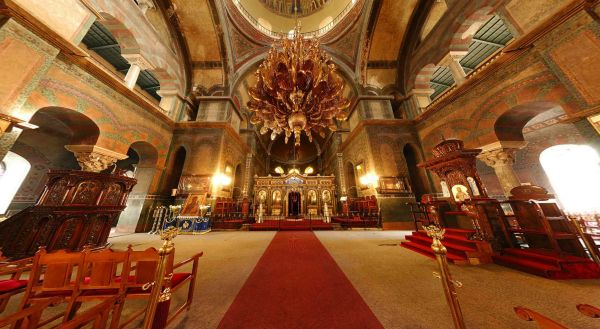 Hagia Sophia templom belső