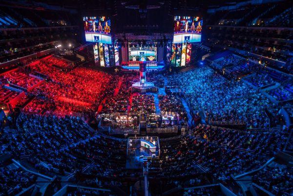e-sport világbajnokság stadionban