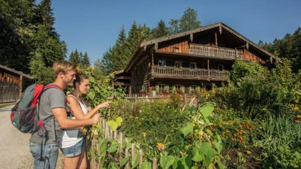 Radstadt Landhaus Tripolt nyáron