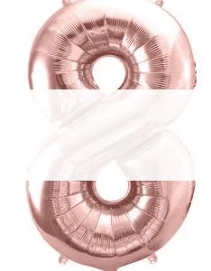 Balony cyfry - 86 cm