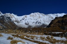 Nepal, trek to the ABC heroes day