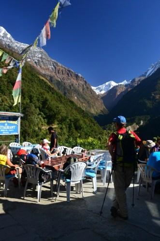 Nepal, trek to the ABC final