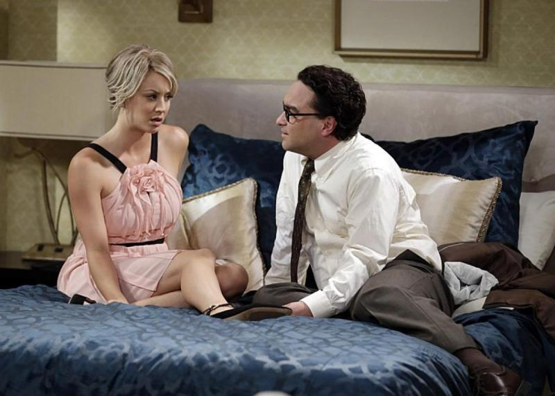 Kaley Cuoco i Johnny Galecki